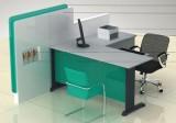 农业银行VI系统家具 非现金柜台 装修家具 装修设计 装修效果图设计