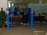 建设银行系统家具 VI系统家具 非现金柜台屏风 设计制作 设计订做