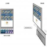 工商银行广告爱博体育手机APP A1单面挂墙式海报折叠页(带有机盒)