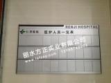 医院医护人员一览表铝牌