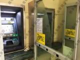 银行存取款机ATM机警方提醒牌